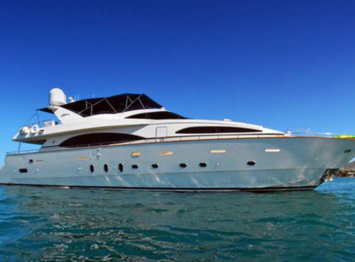 Azimut Jumbo Yacht 100ft (IN SEASON – AVAILABLE IN LA PAZ & CABO)